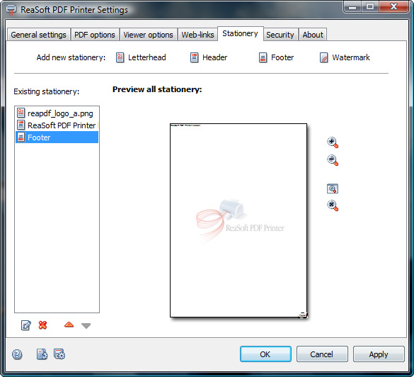 Convert any document into a PDF document directly from Windows apps!