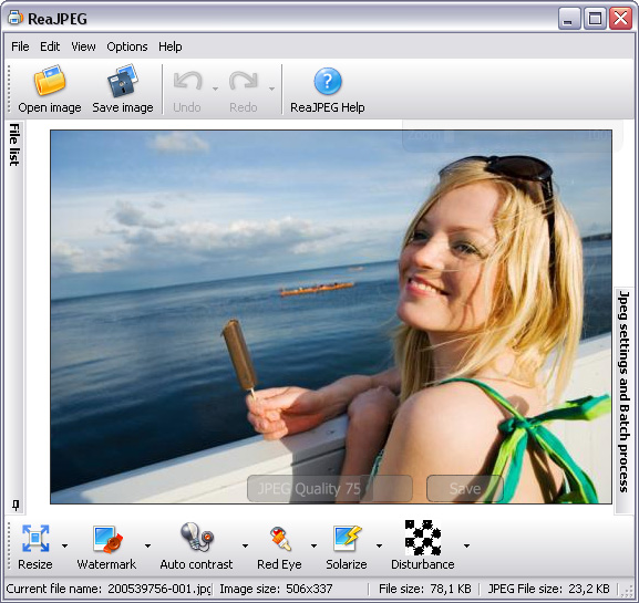 Batch photo editing software e CRW / NEF / ARW / convertitore RAW al JPEG.