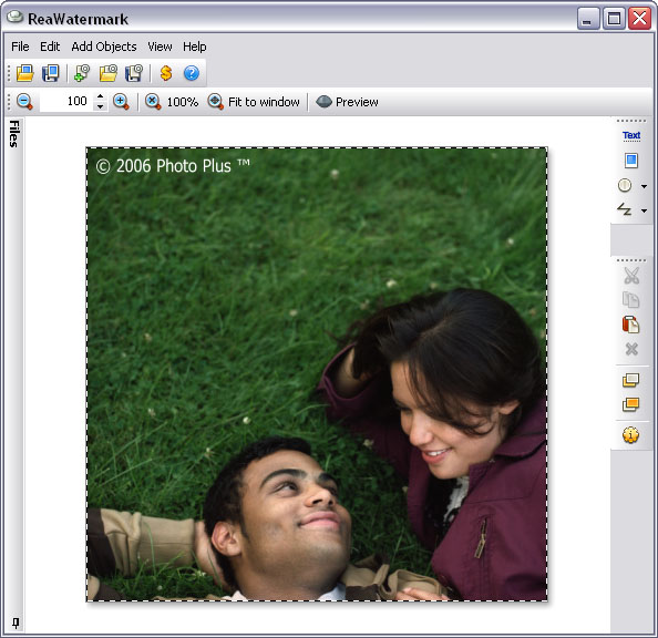 how to create a picture watermark in pixlr